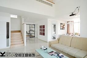 201889平米现代小户型客厅装饰图片欣赏