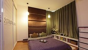 75平米现代小户型卧室装修实景图片欣赏