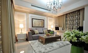 精选面积83平小户型客厅现代设计效果图