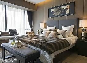 精选面积97平简约三居卧室装修欣赏图