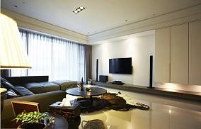 客厅简约电视背景墙装修效果图大全2013图片