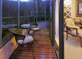简约二居阳台装修设计效果图片大全