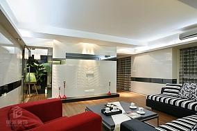 热门90平米现代小户型客厅装修效果图