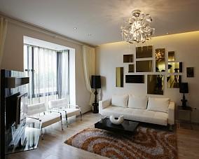 精选简约一居客厅装修欣赏图
