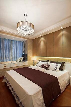精选面积85平现代二居卧室效果图