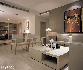 2018精选88平米现代小户型客厅装修设计效果图