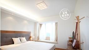 精选面积106平简约三居卧室装修图