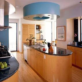 精美116平米欧式复式厨房装修设计效果图片大全