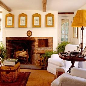面积131平复式客厅欧式装修欣赏图片