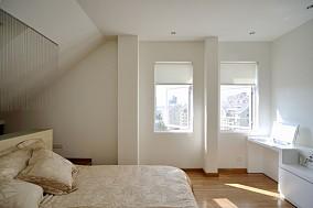 138平米简约复式卧室装修欣赏图片大全