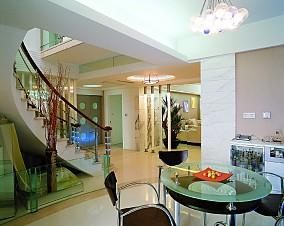 精美复式餐厅简约装饰图片欣赏