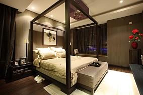 热门71平米二居卧室中式欣赏图片