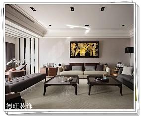 201880平米二居客厅现代装修实景图片欣赏