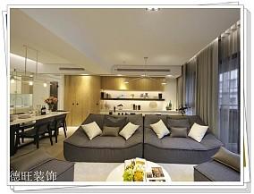 201889平米二居客厅简约实景图片