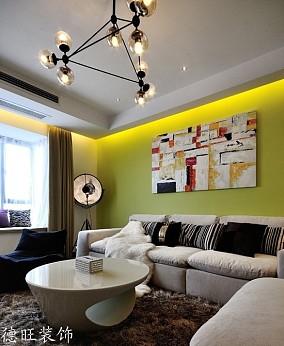 现代一居客厅装修设计效果图片