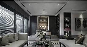 精美面积91平现代三居客厅装修欣赏图片大全