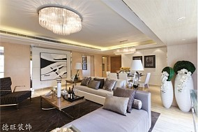 2018精选简约一居客厅装修设计效果图片