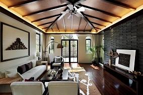别墅客厅东南亚装修图片
