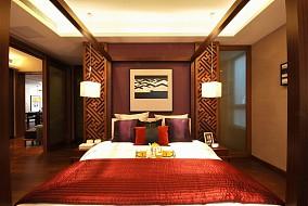 79平米二居卧室东南亚装修实景图片欣赏