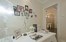 热门欧式二居书房装修设计效果图