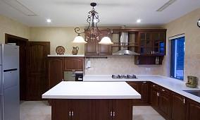 精美小户型厨房美式装修设计效果图