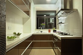 精美简约二居厨房装修设计效果图片欣赏