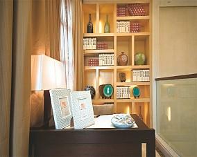 精美面积107平简约三居书房装修设计效果图