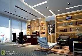 总经理办公空间设计效果图