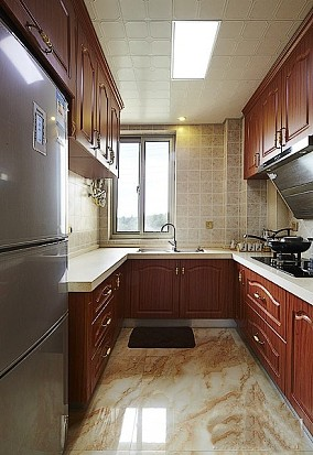 2018精选85平米欧式小户型厨房装修图片