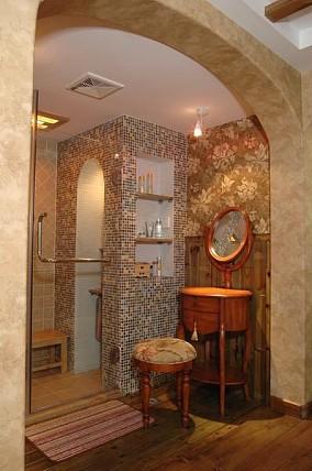 热门125平米田园别墅卫生间装饰图片欣赏