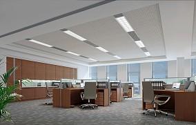 敞开式办公空间设计
