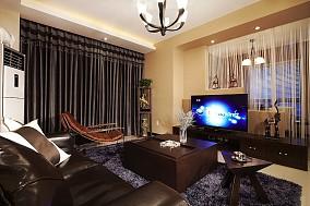 精选74平米现代小户型客厅装饰图片欣赏