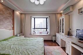 简约一居卧室装修实景图片欣赏