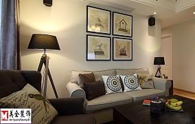 精美面积76平小户型客厅现代装修效果图片大全