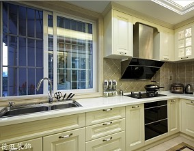 热门面积71平小户型厨房欧式装修图