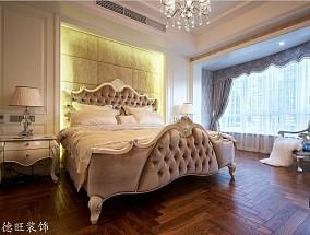 二居卧室欧式装修实景图