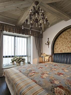 2018面积79平小户型卧室地中海装修设计效果图片