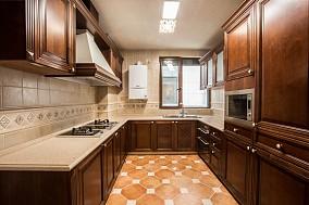欧式别墅厨房效果图片大全