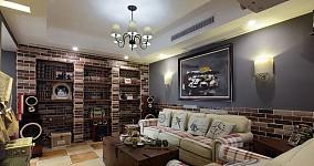 精选小户型客厅美式装修设计效果图片欣赏