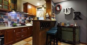美式小户型厨房装修图片大全