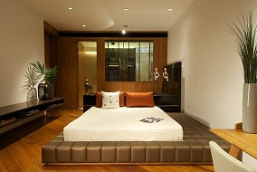 热门109平方三居卧室中式效果图片大全