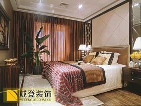 精美二居卧室欧式实景图