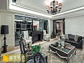 新古典主义风格小户型客厅装修效果图