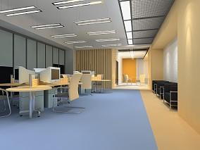 50平米办公室装修设计效果图