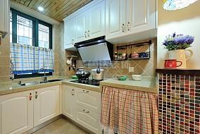 精选面积71平小户型厨房欧式装饰图