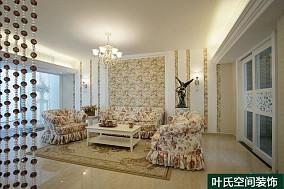 热门面积88平田园二居休闲区装修设计效果图片欣赏
