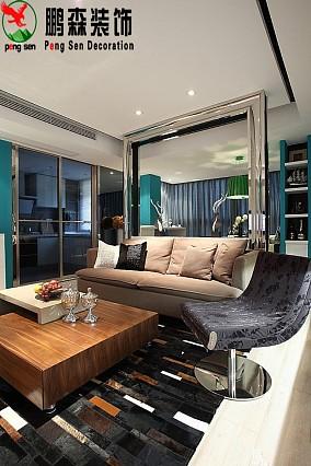 热门面积79平现代二居客厅装修效果图片欣赏