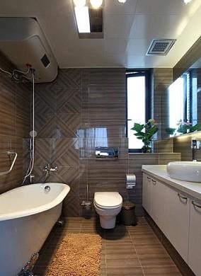 家庭卫生间铝扣板吊顶效果图