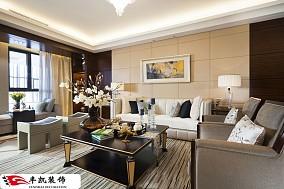 精美78平方二居客厅现代装修效果图