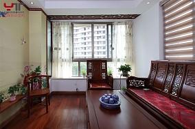 中式风格客厅飘窗装修效果图大全